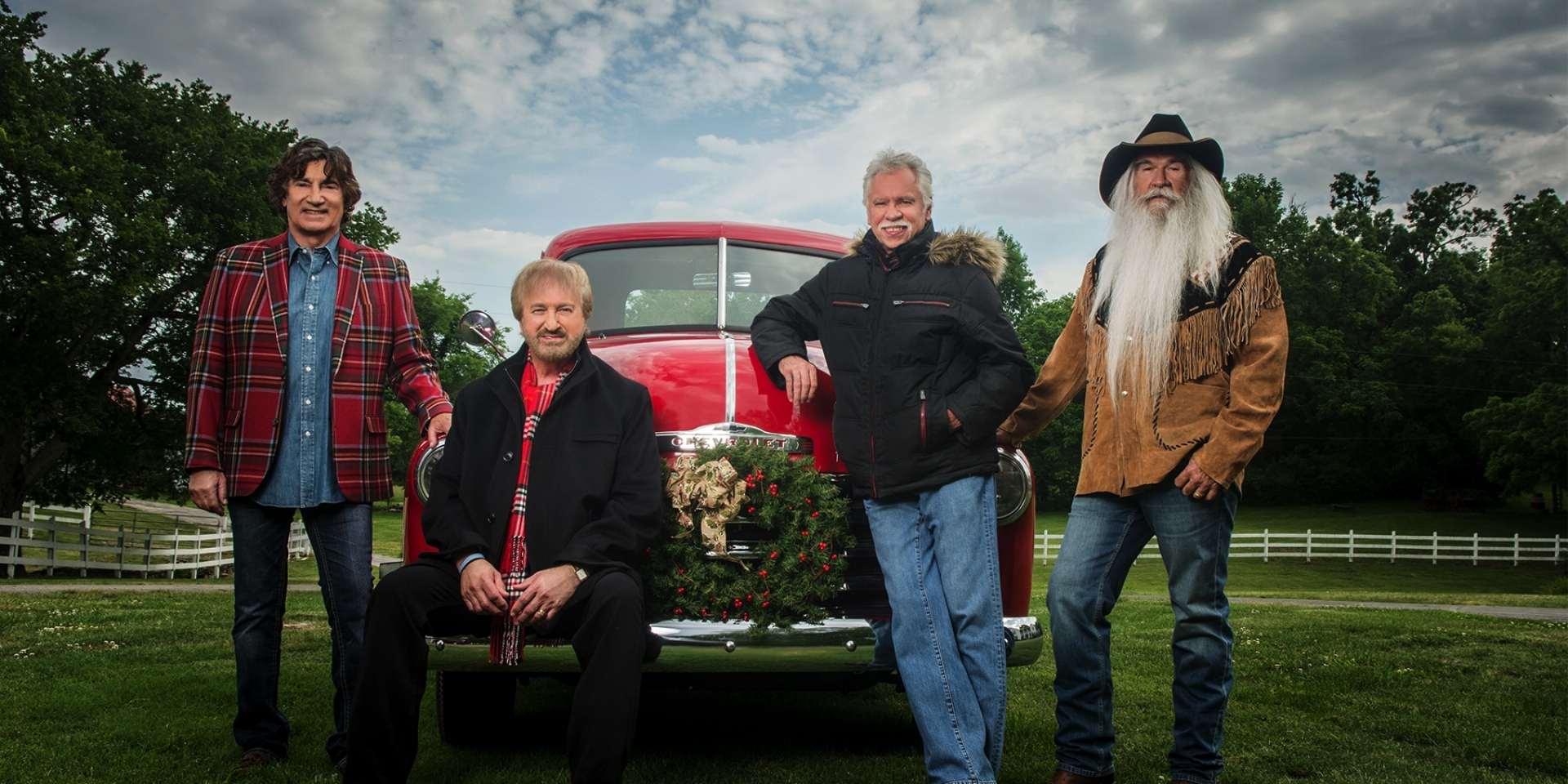 Oak Ridge Boys Christmas Celebration Tour 2017 | Historic Tennessee ...